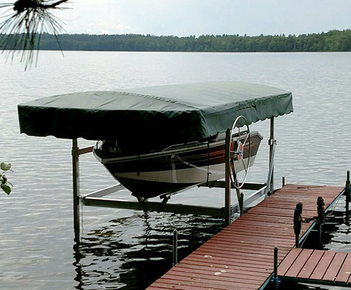 Lifts and Docks - Craftlander Boat Lift Pricing