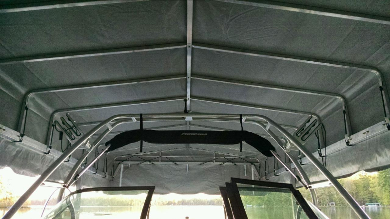 High Top Canopies Now Available with Zippered Ski Tower Ends +$125 Image Image & Lifts and Docks - Craftlander Boat Lift Pricing